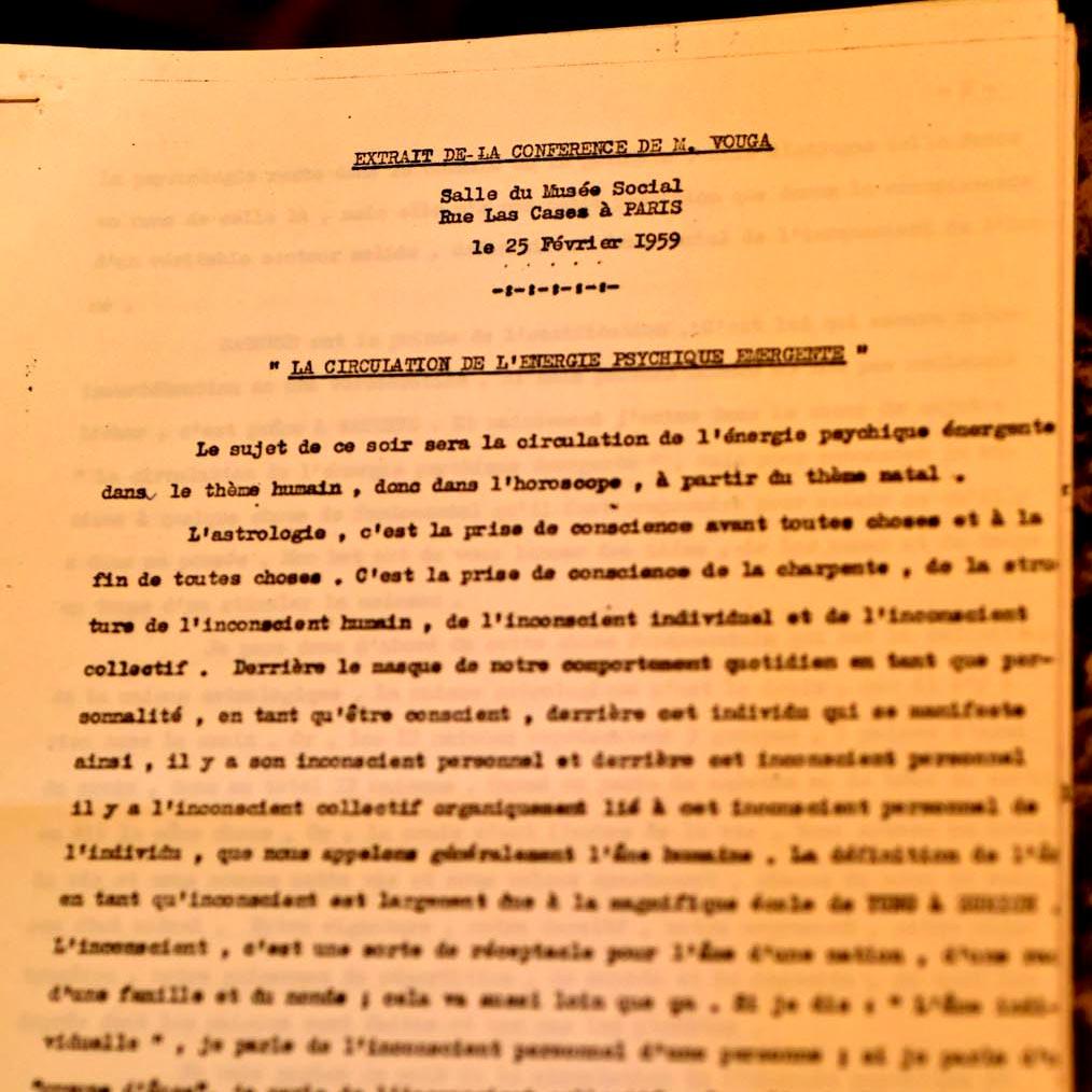 Enregistrements Historiques de Charles Vouga (et Germaine Holley)