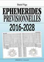 Ephemerides previsionnelles 2016-2028