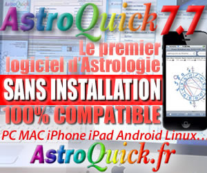 Logiciel d'Astrologie sans installation PC MAC WEB IPHONE NETBOOK