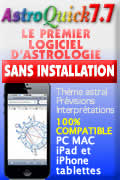 Logiciel d'Astrologie AstroQuick Mac PC WEB...