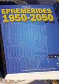 livre d'ephemerides astrologiques 1950 2050